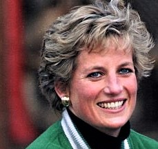 Princess Diana with roscaea